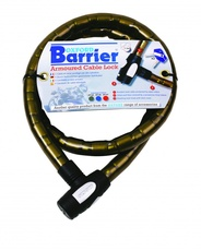 BARRIER AMOUROSU CABLE LOCK - SMOKE