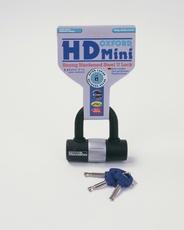 HD MINI DISC LOCK - NEGRU