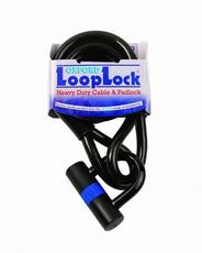 LOOP LOCK. 2.0M X 10mm - SMOKE
