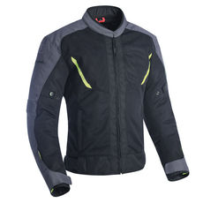 GAEACA DELTA 1.0 AIR JACKET BLACK GREY & FLUO S
