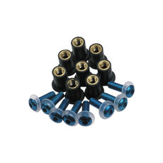 SCREEN SCREWS - BLUE (OX-OF982)