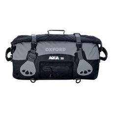 AQUA T-30 ROLL BAG - NEGRU/GREY (OX-OL990)