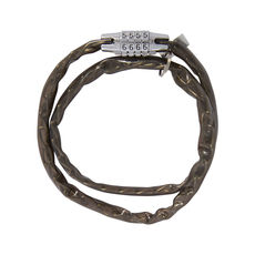 COMBI CHAIN COMBINATION LOCK 36' - SMOKE