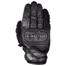 MANUSI RP-4 SUMMER SHORT GLOVES STEALTH BLACK 4XL
