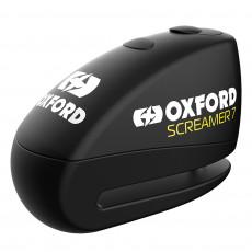 OXFORD - SCREAMER XA7 ALARM DISC LOCK BLACK/SILVER