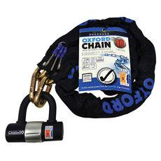 CHAIN10 10mm X 1.4M CHAIN & LOCK