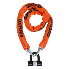 HD CHAIN LOCK 9.5mm SQUARE 1.5M X 9.5mm ORANGE