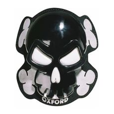 SKULL KNEE SLIDERS NEGRU (OX-OF261)
