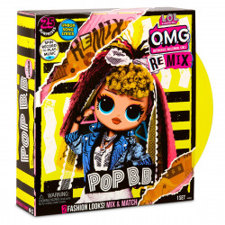LOL Surprise OMG Remix, Papusa Fashion Pop BB cu 25 de surprize, 567257E7C