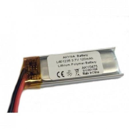 Acumulator Li-Polimer LP401235 3.7V 120mAh