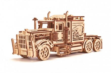 Puzzle 3D Big Rig din lemn 485 piese