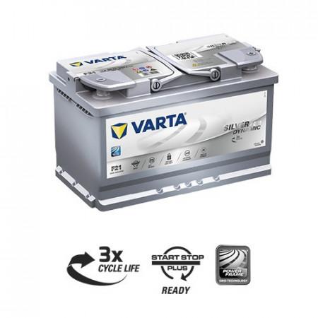 VARTA Silver AGM 80Ah 800A 580901080