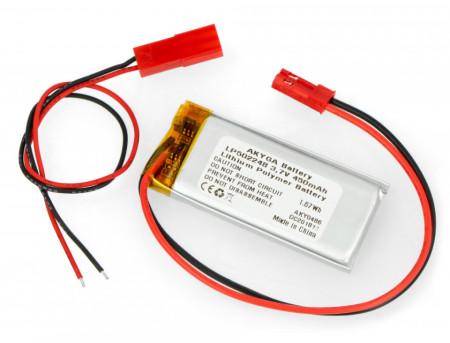 Acumulator Li-Polimer LP502248 3.7V 450mAh