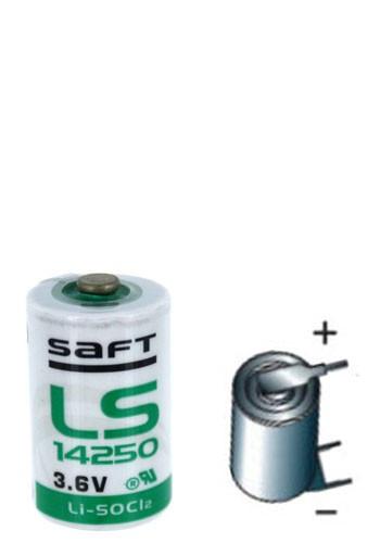 Baterie Litiu SAFT LS14250 terminale 3PF RP