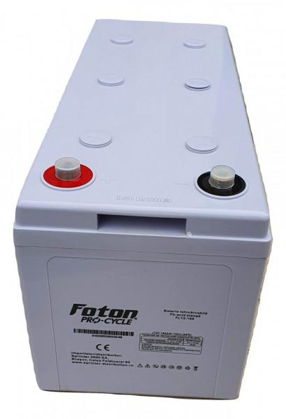 Acumulator Front Terminal Foton FL12-165Ah