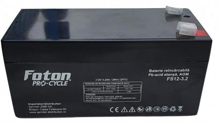 Acumulator plumb-acid (backup) Foton 12V 3.2Ah