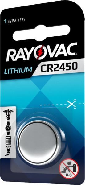 Baterie CR 2450 Litiu Rayovac 3V (CR2450)
