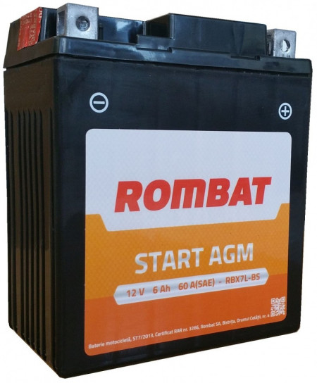 Baterie Moto Rombat AGM RBX12-BS 12V 10Ah