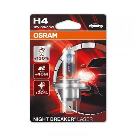 H4 Osram Nightbreaker LASER 12V 60/55W