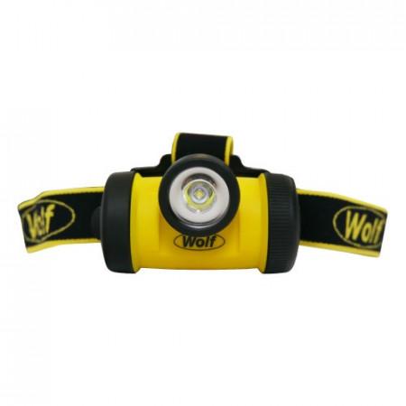 Lanterna frontala ATEX LED Z0 WOLF HT-650
