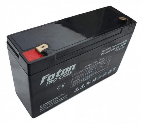 Acumulator VRLA Foton FS6-12Ah