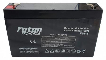 Acumulator VRLA Foton FS6-8Ah