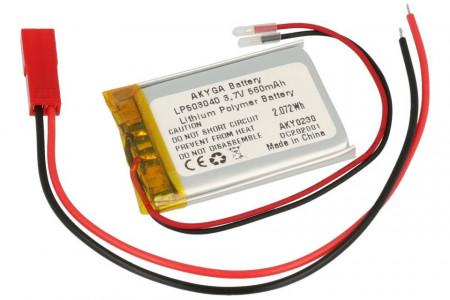Acumulator Li-Polimer LP503040 3.7V 550mAh
