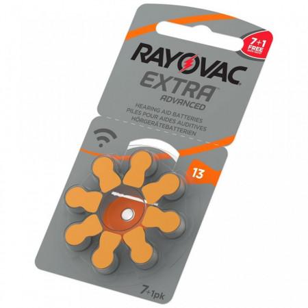 Baterii auditive Rayovac 13ZA 7+1 PROMO