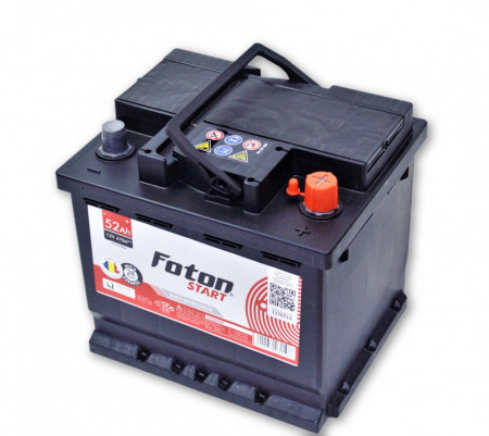 Foton Start 52Ah 470A acumulator auto