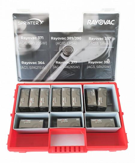 Pachet PROMO ceasornicar - 6 modele (110 baterii)