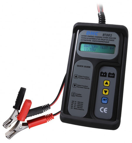 Tester digital acumulatori auto DHC BT002