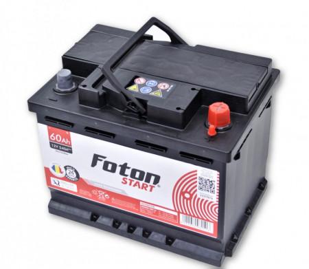 Acumulator auto Foton Start 60Ah 540A