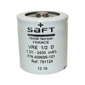 Acumulator NiCd Saft VR2.5 2/3 D 2500mAh