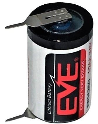 Baterie Litiu Eve ER14250 (LS14250) 1/2AA 3.6V cu pini