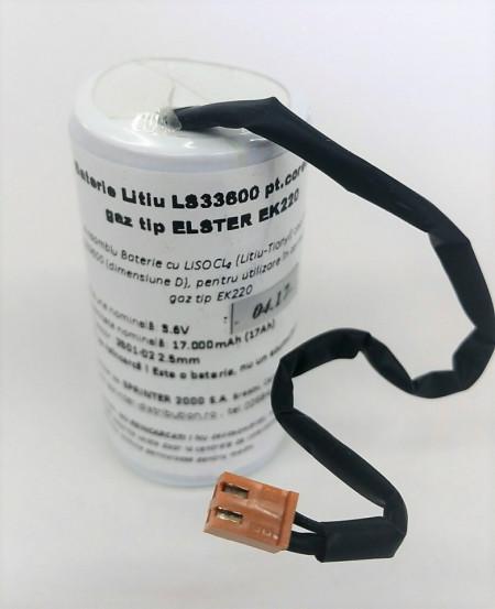 Baterie Litiu LS33600 pt corector gaz EK220