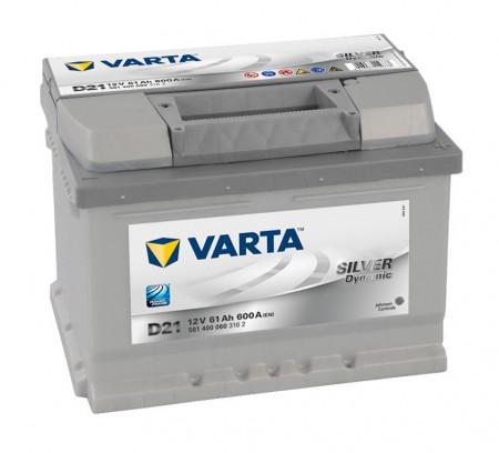 Varta Silver 61Ah 600A 561400060