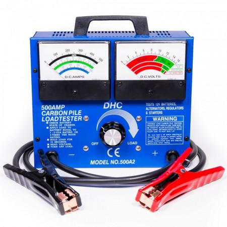 Tester cu shunt pt acumulatori auto DHC 500A2