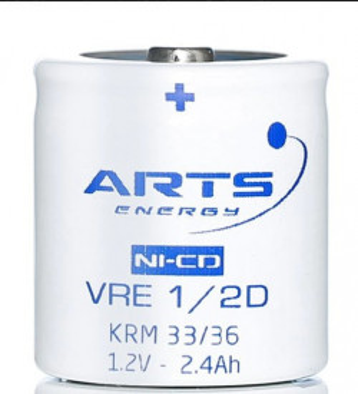 Acumulator NiCd Saft VRE 1/2 D 2200mAh