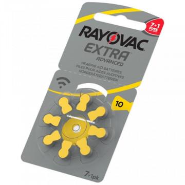 Baterii Rayovac 10ZA auditive 7+1 PROMO
