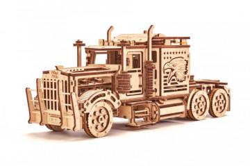 Puzzle lemn 3D Big Rig (Camion) 485 piese