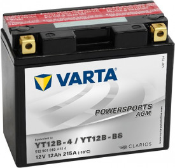 Acumulator Moto Varta AGM 12V 12Ah YT12B