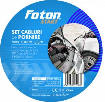 Cabluri pornire Foton 1000A 3m, in gentuta
