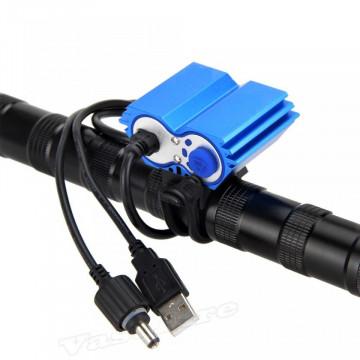 Far reincarcabil X2 LED 10W
