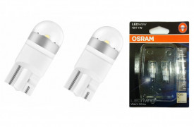 SET OFF-ROAD LED W5W Osram 2850WW-02B