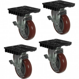 Set roti Peli 0507 Caster Wheel Kit