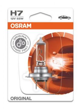 Bec auto H7 Osram Original 12V 55W 64210-01B