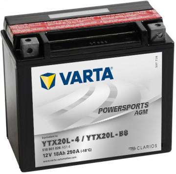 Acumulator Moto Varta AGM 12V 18Ah