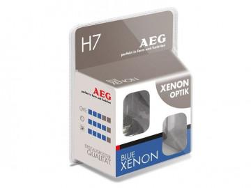 AEG set becuri auto halogen H7 Blue Xenon