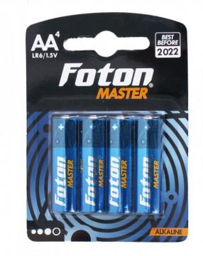 Baterii alcaline Foton Master LR6 (AA)