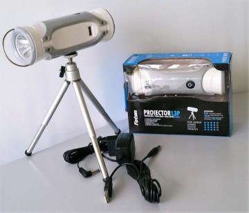 Lanterna pescar+PowerBank Foton L3P (led 3W alb+blue)